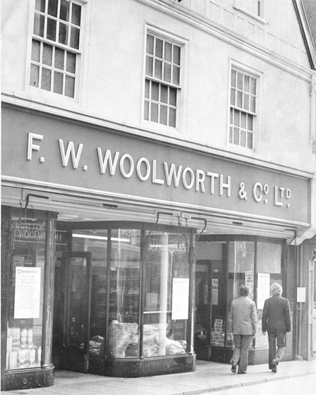 Norwich Buildings Woolworths, Magdalen Street. Ceased trading on 13th September 1975 Dated 8th S