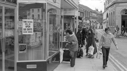 Dereham - Woolworths store. Photo: Archant Library
