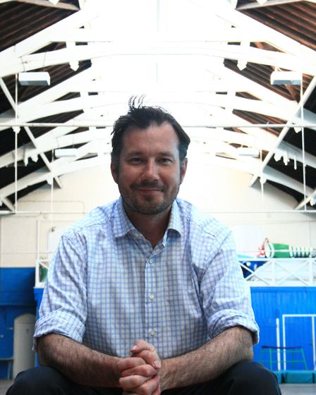 Artistic Director & Chief Executive of Seachange Arts, Joe Mackintosh in The Drill House. Picture: S