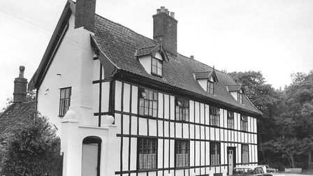 This Tudor building was believed to be the oldest in Scole, it was restored at the cost of �2000 (in