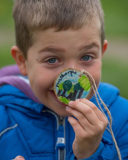 The Wild about the Wensum family event at Pensthorpe Natural Park. Seven year old Jake Betts .Photo