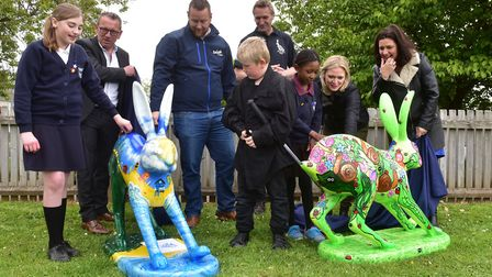 Launch of the new GoGoHares at White Woman Lane School, Old Catton, Norwich.