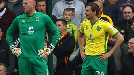 Russell Martin is preparing to bid farewell to John Ruddy and centre-back Ryan Bennett. Picture: Pa