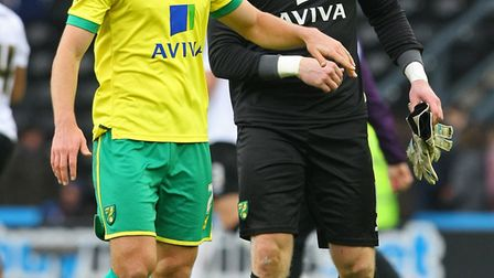 Steven Whittaker and John Ruddy will sign off on their Norwich City careers on Sunday, with more tha