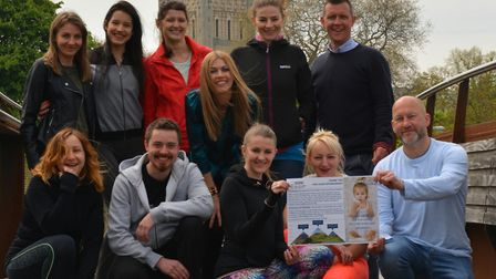 A group of friends will be taking on the Three Peaks challenge to help Victoria Komada get a life ch