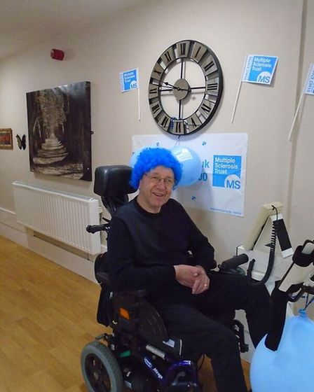 Fundraising at Meadow House care home in Swaffham for the MS Trust. Picture: MEADOW HOUSE CARE HOME.
