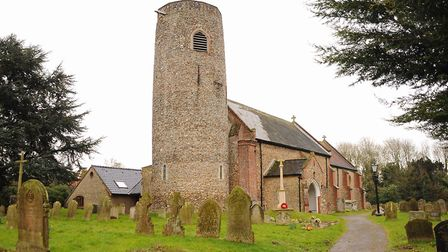 St Peter's Church at Brooke which has received a Heritage Fund Lottery grant towards the cost of reh