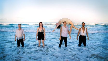 NNF17: Casus Circus - Driftwood. Photo: Norfolk and Norwich Festival