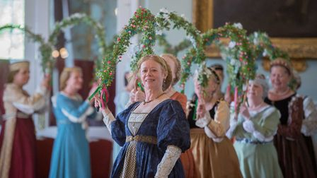 Medieval dancing at the King's Lynn Hanse Festival, Picture: Matthew Usher