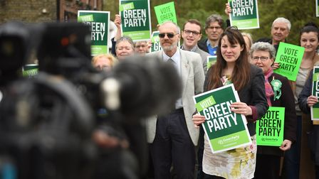 Norfolk Green Party manifesto launch Picture : ANTONY KELLY