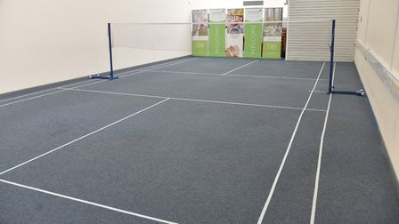 Staff at Hoseasons HQ in Lowestoft now have a badminton court facility installed at the head office.
