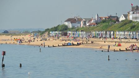 Southwold Beach has been awared a Blue Flag. Picture: Archant.