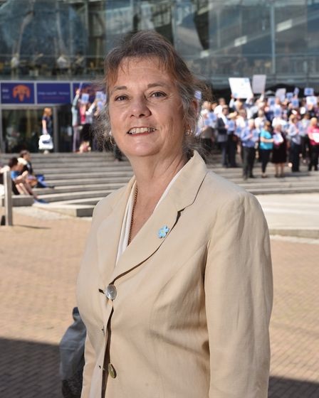 Chief executive of AgeUK Norwich & chairman of Dementia Action Alliance Norwich Susan Ringwood. Pict