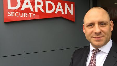 Former police officer and counter terrorism specialist Ross McDermott of Dardan Security. Picture: P