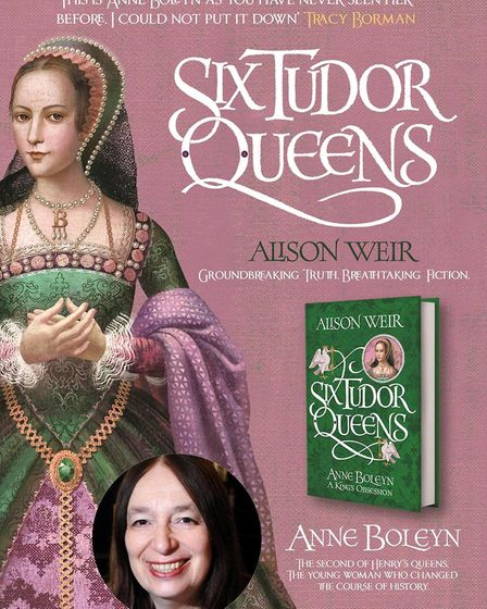 Alison Weir will be returning to Beccles to talk about her latest novel, hosted by the mayor and dep