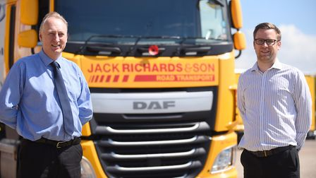 Business feature on the changes in the industry and the growth of Jack Richards Palletways in Fakenh
