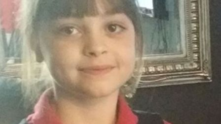 Saffie Rose Roussos, eight, who died in the terror attack at Manchester Arena on Monday night. Pictu