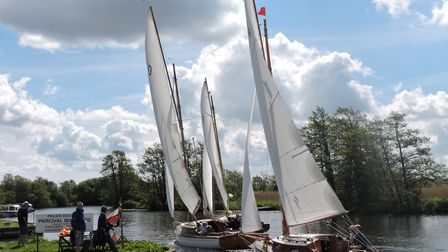 Racing from Horning. Picture: Holly Hancock
