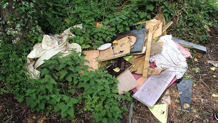 Officials say a road closure at Bawsey would help combat fly-tipping. Picture: Matthew Usher.
