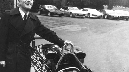 Colin Chapman, founder of Lotus. Picture: Archant Library