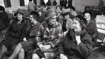 The Queen and Queen Mother at Sandringham, WI. Picture: Archant library