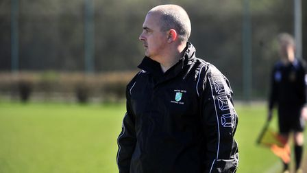 Paul Bugg is the new manager of Diss Town. Picture: Lucy Taylor