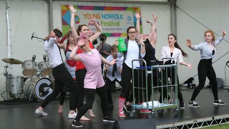 Young Norfolk Arts Festival 2017 - The Young Norfolk Arts and The Garage Stage will present two days