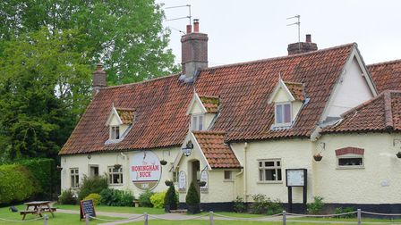 The Honingham Buck is holding a beer festival and garden party. PHOTO BY SIMON FINLAY