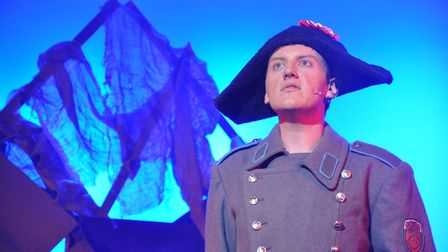 Zachary Green won a Noda award for best youth performance for his role as Javert in Les Miserables.