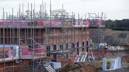 House building in Norfolk. Picture: Simon Finlay