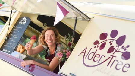 We visited Stephanie at Alder Tree ice cream to find out more about the brand. Pictures: All stills