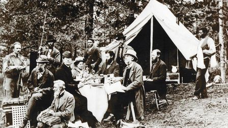 Joseph Hooker in America in the 1870s. Picture: Courtesy of Millennium Green Trust.