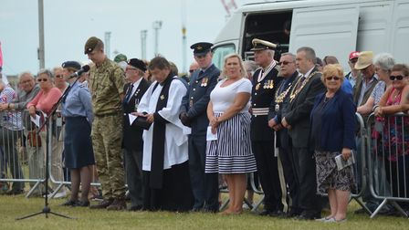 The Drumhead Service at Lowestoft's Armed Forces Day. Pictures: Mick Howes