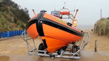 Hemsby Lifeboat's inshore Broads boat was called out.