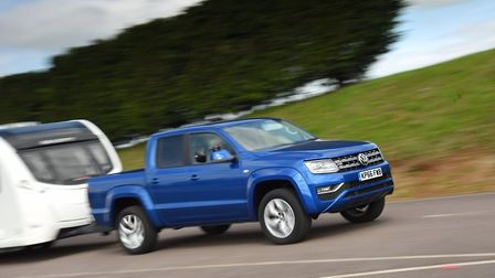 Best pick-up  Volkswagen Amarok 3.0 TDI 224PS 4Motion Aventura Auto. Picture: Tow Car Awards