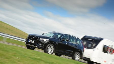 Best hybrid  Volvo XC90 T8 Twin Engine Momentum. Picture: Tow Car Awards