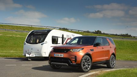 More than 1,900kg and overall tow car winner  Land Rover Discovery 3.0 Td6 HSE. Picture: Tow Car Aw