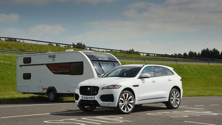 1,700 to 1,899kg  Jaguar F-Pace 3.0d 300PS AWD S. Picture: Tow Car Awards