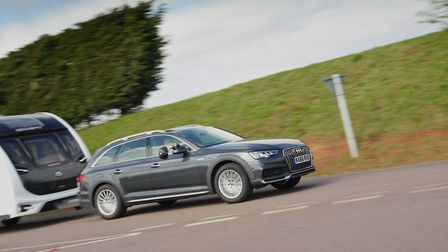 Best petrol tow car  Audi A4 Allroad 2.0 TFSI 252PS Quattro S-tronic. Picture: Tow Car Awards