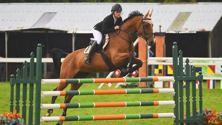 Showjumping at last year's show. Picture: Ian Burt