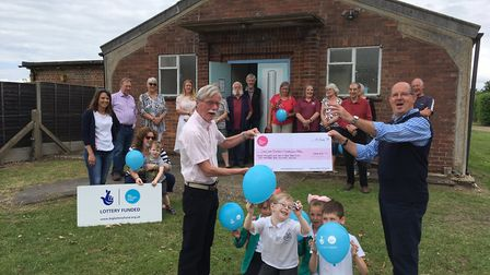 The village of Lyng is celebrating a BIG Lottery grant.