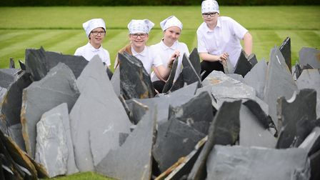 Norfolk pupils had the chance to explore the art and the heritage of Houghton Hall. With the Houghto