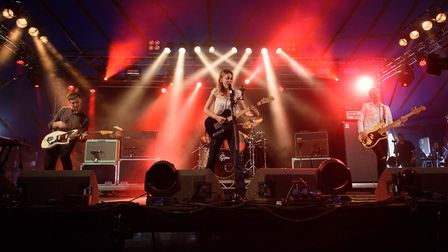Wolf Alice had the 6music tent full to the brim at Latitude 2015. Photo: PJBAYFIELD