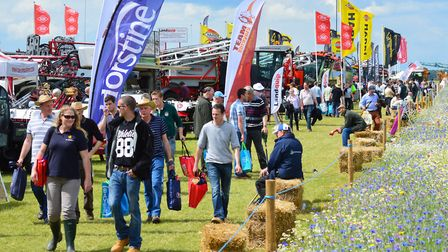 Cereals event 2016, Chishall Grange, Cambs.
