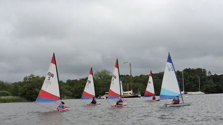 This Saturday will see teams from Norfolk workplaces battle it out to be crowned �Top Sailing Workpl