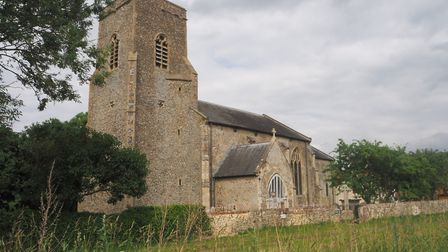 St Botolph's Church at Barford. Picture: Courtesy of Paul Dick, Barford PCC fabric officer