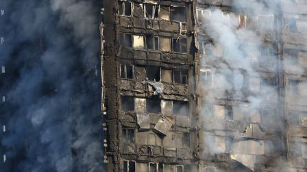 More than 200 firefighters were sent to tackle the blaze (Picture: Rick Findler/PA Wire)