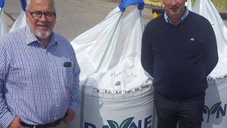 Payne Crop Nutrition has opened a new fertiliser plant at Fakenham. Managing director Dale Payne and