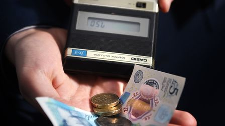 Wages are rising slower than inflation, Office for National Statistics figures show. Picture: ANTONY