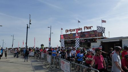 The heritage bike ride will take in Great Yarmouth's history. Photo: Archant Library